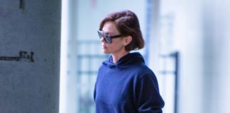 Charlize Theron in Travel Outfit – JFK Airport in New York