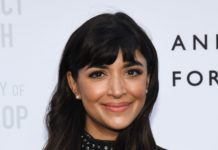 "Hannah Simone – ""Wu-Tang Clan: Of Mics and Men"" Red Carpet in NYC"