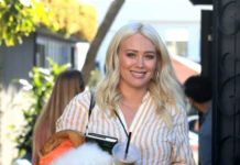Hilary Duff – Leaves a Hair Salon in West Hollywood
