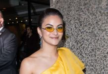 Camila Mendes – Outside Gucci After Party for MET Gala 2019 in NYC