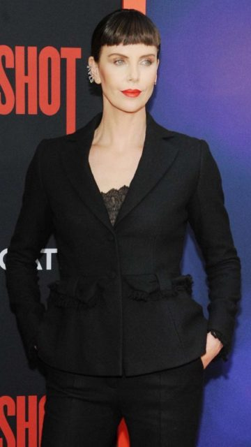 Charlize Theron – 'Long Shot' Premiere in New York