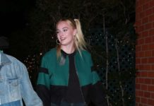 Sophie Turner and Joe Jonas – Leaving Mr Chow in Beverly Hills