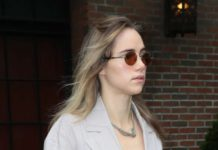 Suki Waterhouse – Leaves her hotel in New York