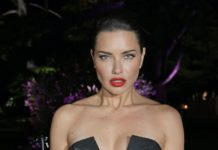 Adriana Lima – Private Dinner Hosted by Alejandro Agag in Cannes