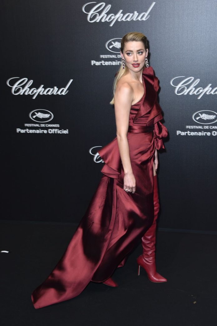Amber Heard – Chopard Party at the 72nd Cannes Film Festival