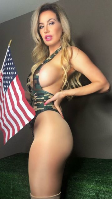 Ana Braga – Memorial Day Photoshoot in Honor of the Armed Forces