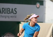 Angelique Kerber – Practises During the Roland Garros in Paris