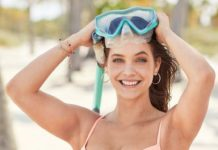Barbara Palvin – VS Swim Promo Shoot, April
