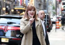 Bryce Dallas Howard – Arriving at GMA in NYC