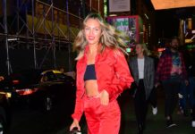 Candice Swanepoel – Pre Met Gala Party in NYC