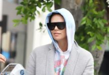 Charlize Theron – Leaves A Business Meeting in Hollywood