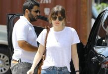 Dakota Johnson Street Style – Los Angeles