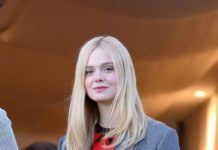 Elle Fanning on the Balcony of the Martinez Hotel Cannes