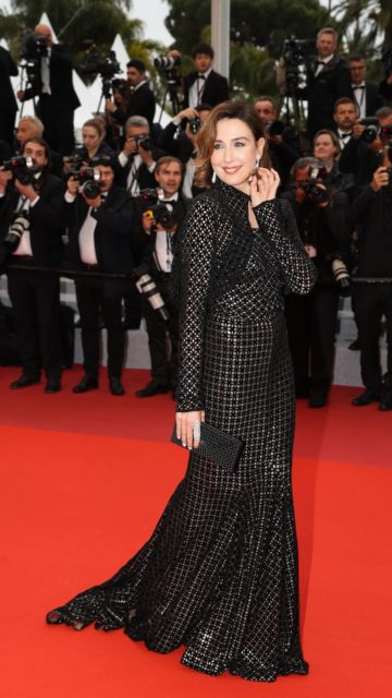"Elsa Zylberstein – ""The Best Years of a Life"" Red Carpet at Cannes Film Festival"