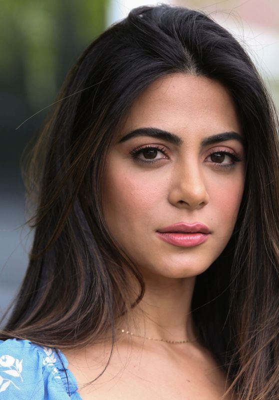 """Emeraude Toubia – Visits Hallmark's """"Home & Family"""" in Universal City"""