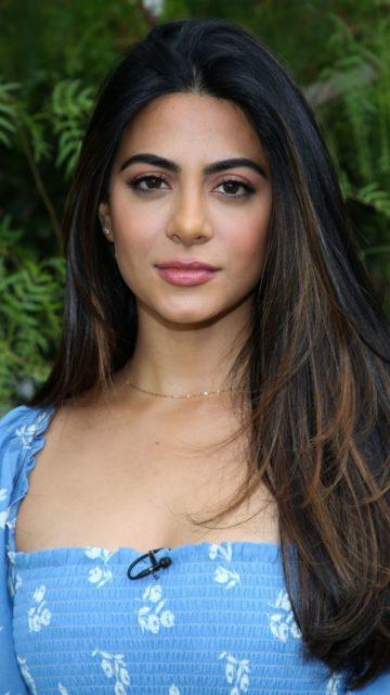 "Emeraude Toubia – Visits Hallmark's ""Home & Family"" in Universal City"