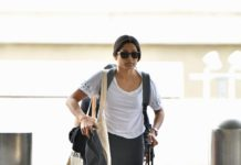 Freida Pinto – LAX Airport in Los Angeles