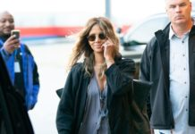 Halle Berry – Arrives at JFK Airport in NYC