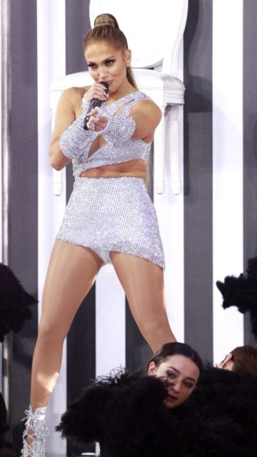 Jennifer Lopez – Performs on NBC's Today Show in New York