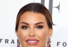 Jessica Wright – FiFi Fragrance Foundation Awards in London