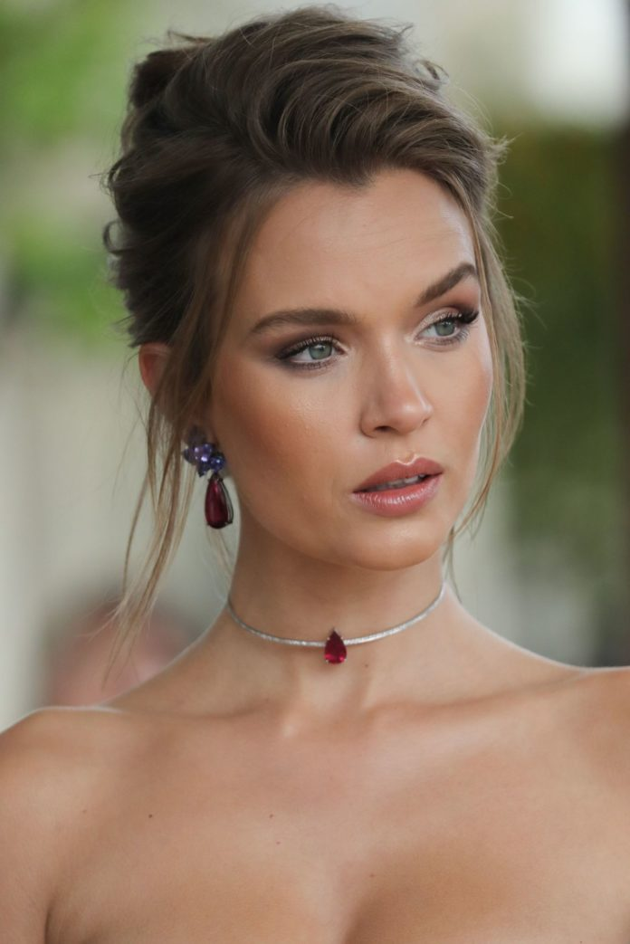 Josephine Skriver – Outside the Martinez Hotel in Cannes