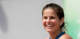 Julia Görges – Practises During the Roland Garros in Paris