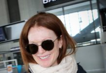Julianne Moore – Leaves From Nice Airport