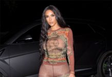 Kim Kardashian – Heading to Travis Scott's Birthday Party in Los Angeles