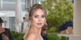 Kimberley Garner at Hotel Martinez in Cannes