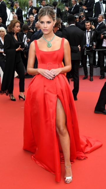 """Lala Rudge – """"Oh Mercy!"""" Red Carpet at Cannes Film Festival"""