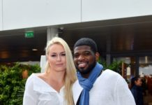 Lindsey Vonn and P.K. Subban – 2019 French Open Roland Garros at Le Village in Paris