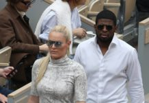 Lindsey Vonn at the Roland Garros French Open in Paris