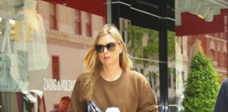 Maria Sharapova Street Style – New York City