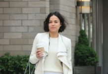 Michelle Rodriguez Street Style