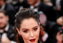 "Nabilla Benattia – ""A Hidden Life"" Red Carpet at Cannes Film Festival"