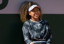 Naomi Osaka – Practises During the Roland Garros in Paris