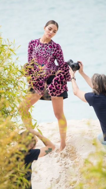 Olivia Culpo – Photoshoot in Cannes
