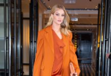 Rosie Huntington-Whiteley Fashion – NYC