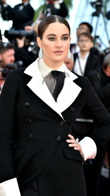 "Shailene Woodley – ""Rocketman"" Red Carpet at Cannes Film Festival"
