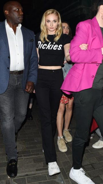 Sophie Turner Night Out – London