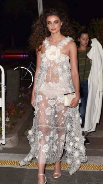 """Taylor Hill – """"Rocketman"""" Party in Cannes"""