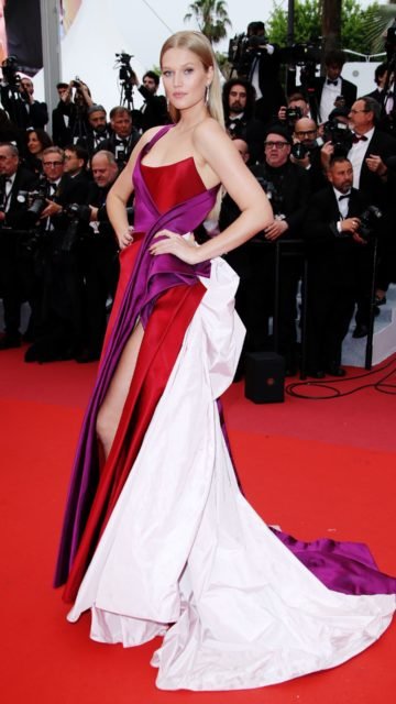 """Toni Garrn – """"The Best Years of a Life"""" Red Carpet at Cannes Film Festival"""