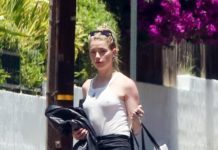 Amber Heard Street Style – Outside Her House in LA
