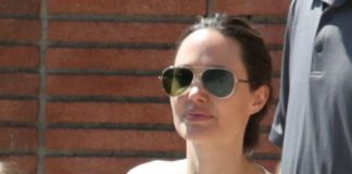 Angelina Jolie – Shopping in Los Feliz