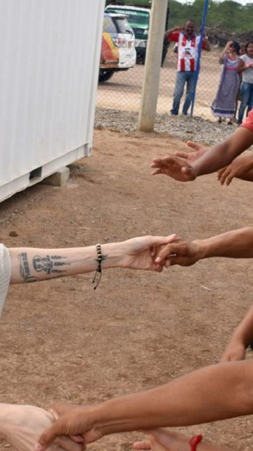 Angelina Jolie – Visits Refugee Camp in Maicao Columbia
