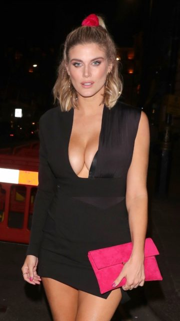Ashley James – Night Out in London