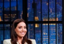 "Aubrey Plaza – ""Late Night With Seth Meyers"" in New York City"