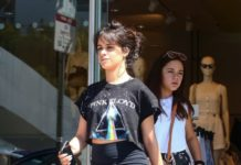 Camila Cabello – Shopping at H&M in West Hollywood