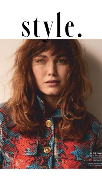 Charlotte Best – InStyle Australia July 2019 Issue