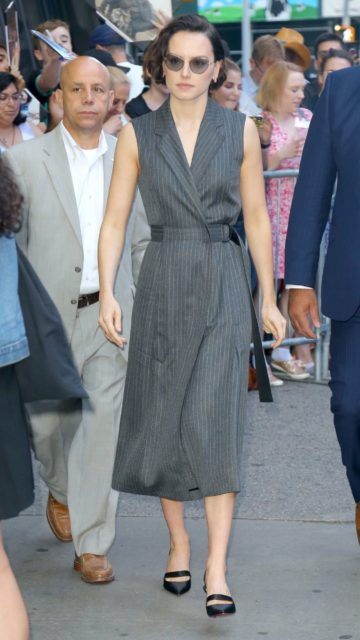 Daisy Ridley – Outside GMA in NYC